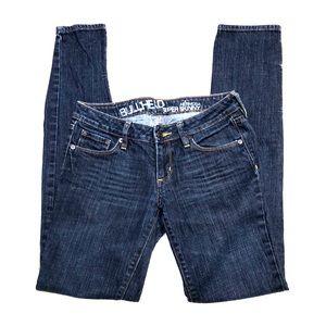 Bullhead Hermosa Super Skinny Dark Blue Jeans 5L
